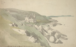 Dunskey Castle, Galloway, June 30th 1789